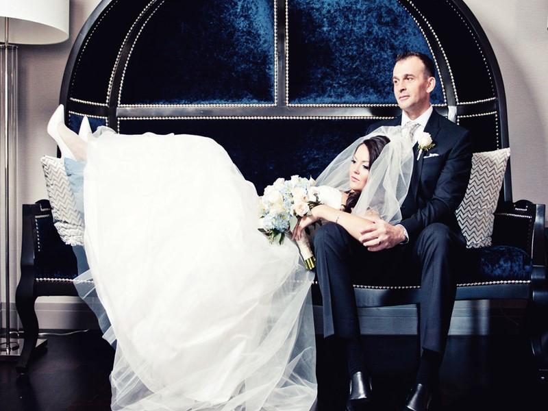 Mariage au Cosmopolitan of Las Vegas, aux Etats-Unis