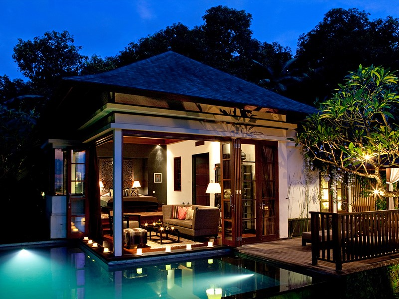 Pool Villa de l'hôtel The Damai