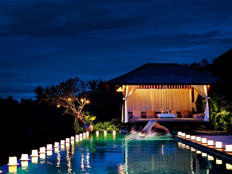 Master Pool Villa de l'hôtel The Damai