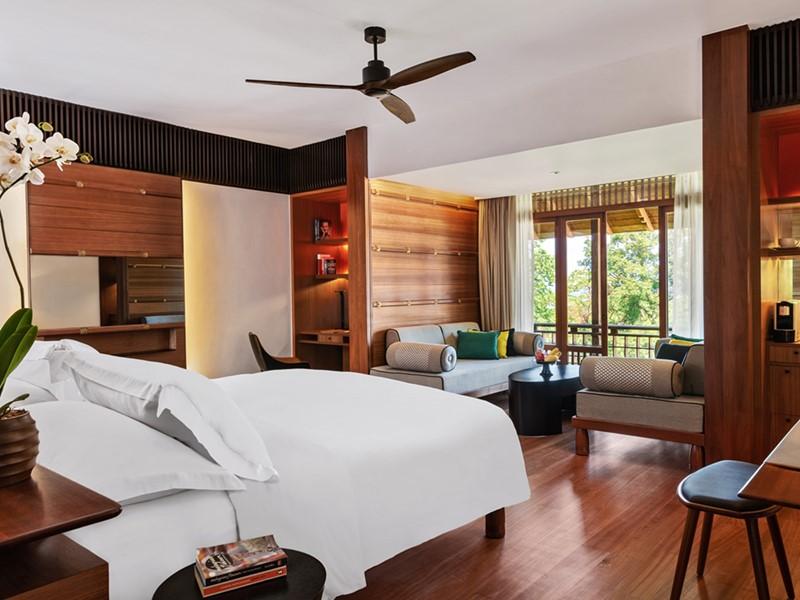 Canopy Deluxe de l'hôtel The Datai Langkawi