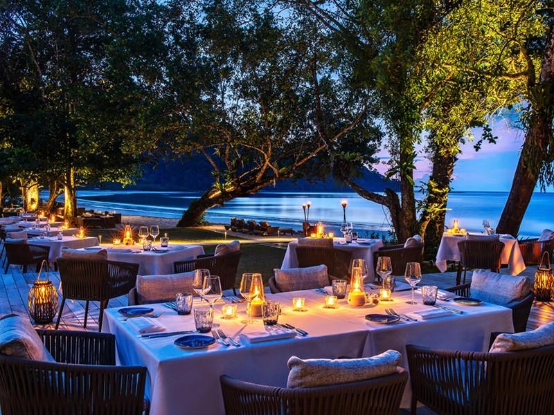 Le Beach Club de l'hôtel The Datai Langkawi