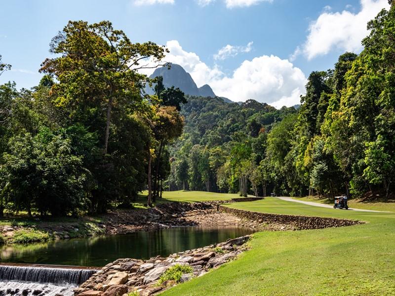 Superbe parcours de golf à proximité du Datai Langkawi