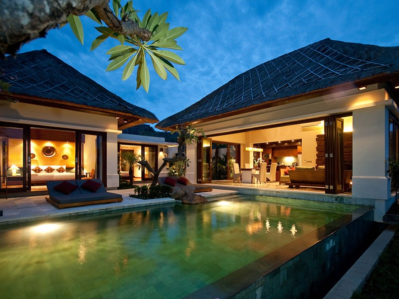 Piscine de la 2 BR Private Pool Villa de l'hôtel The Griya