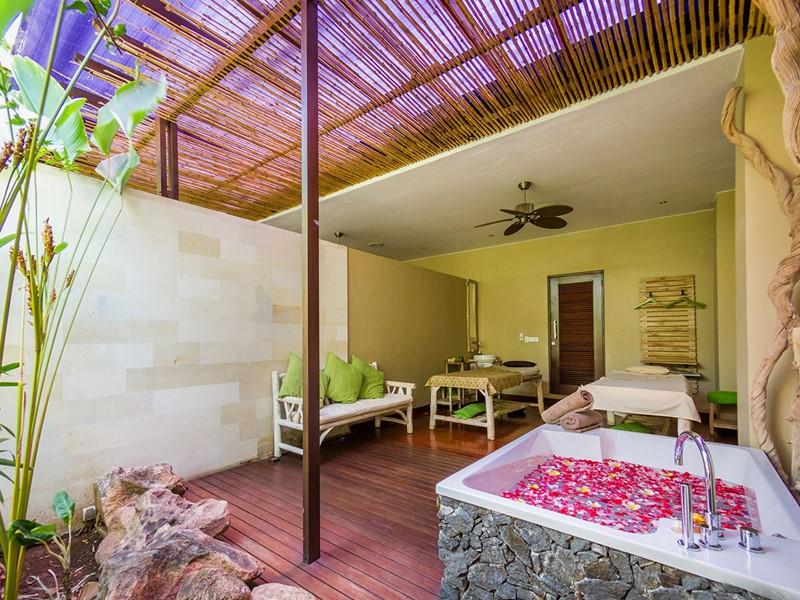Autre vue du spa de l'hôtel The Griya à Amed