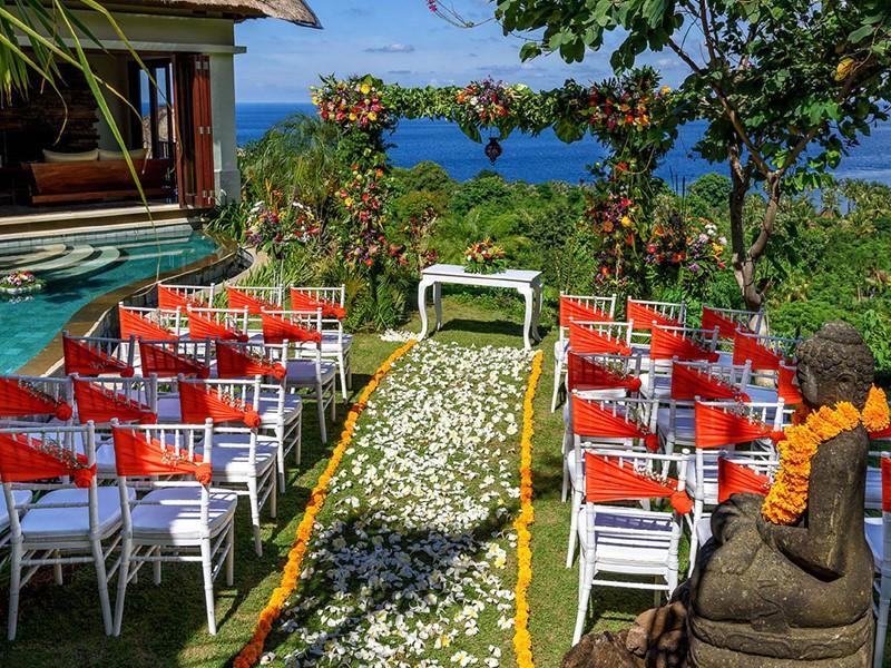 Mariage à l'hôtel The Griya Villas and Spa