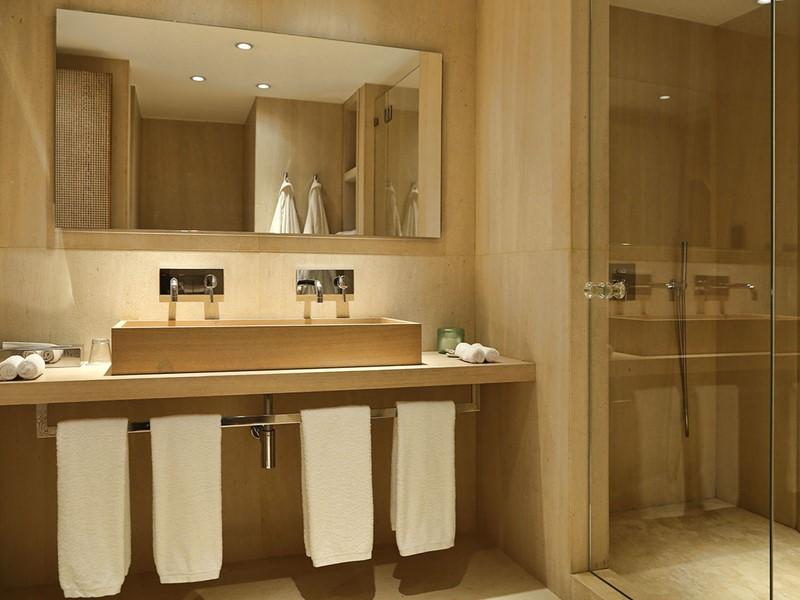 La salle de bain de la Junior Suite
