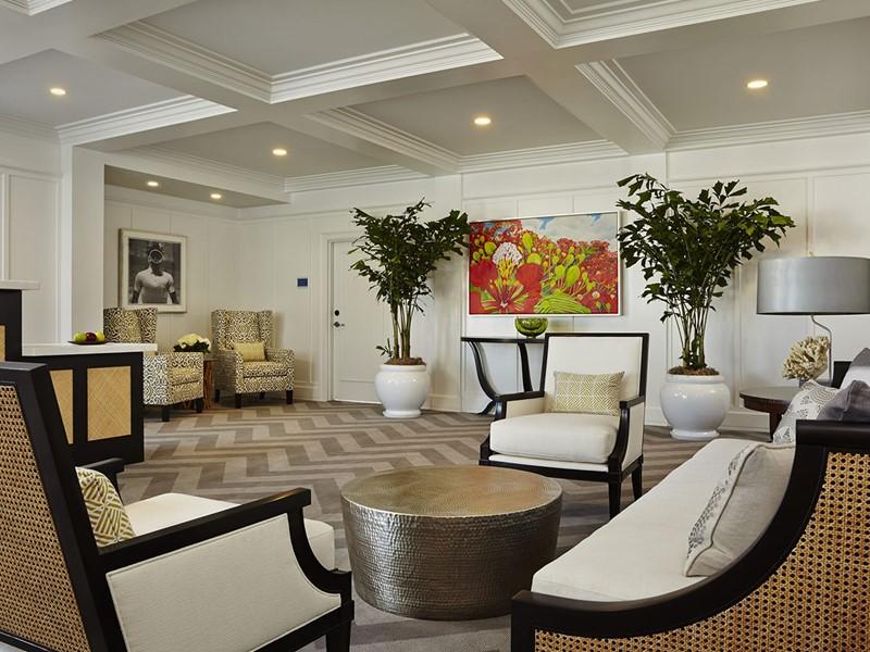 Le lobby de l'hôtel 4 étoiles The Marker, en Floride