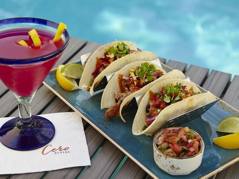 Délicieuse cuisine mexicaine à déguster sur place