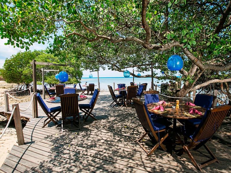 Restaurant Pantai de l'hôtel The Menjangan