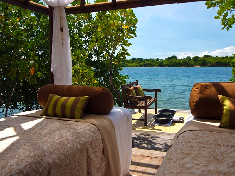 Le spa de l'hôtel 4 étoiles The Menjangan