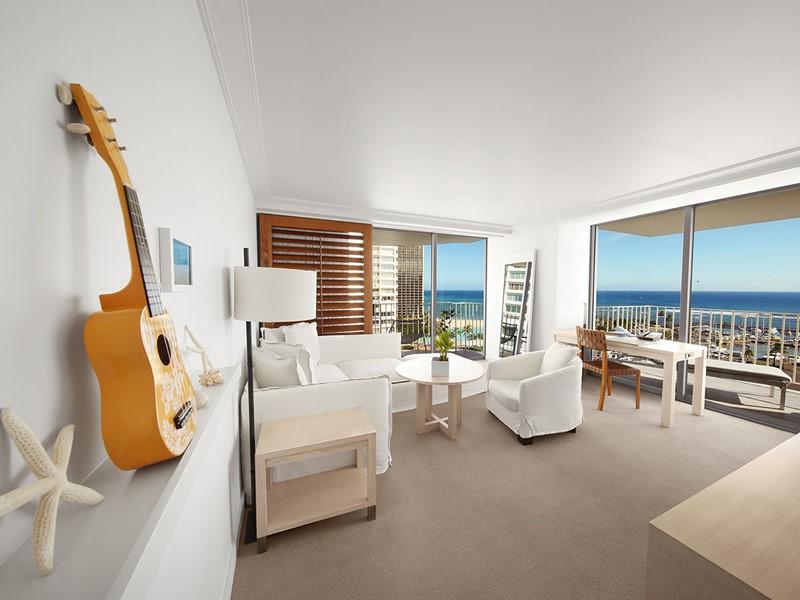 Ocean Front Suite de l'hôtel The Modern à Hawaii
