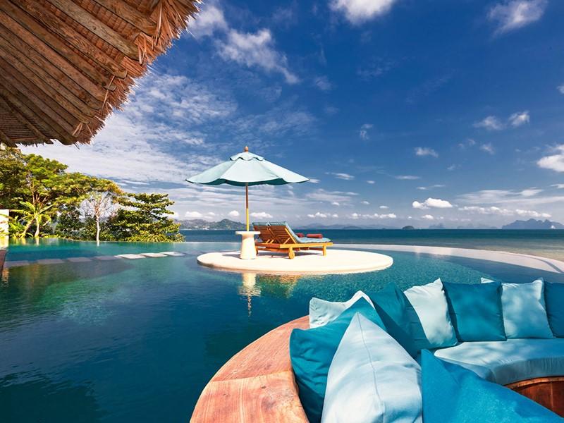 La piscine de la Royal Horizon Pool Villa