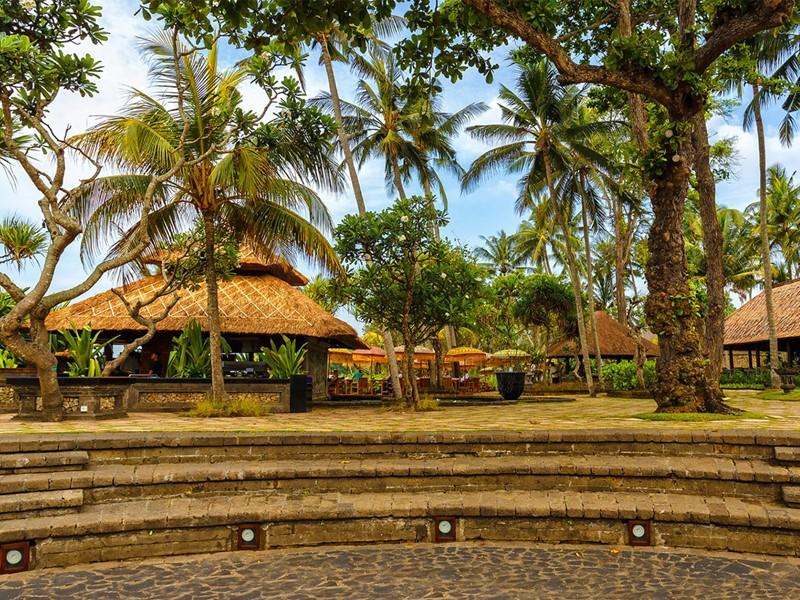 L'amphithéâtre de l'hôtel The Oberoi Bali