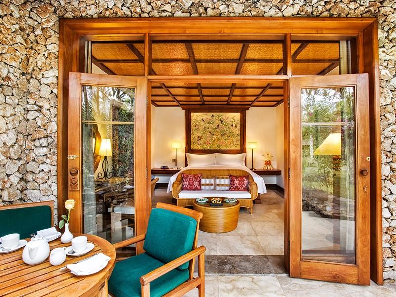 Lanai Ocean View de l'hôtel The Oberoi Bali