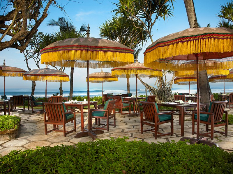 Restaurant Frangipani de l'hôtel The Oberoi Bali