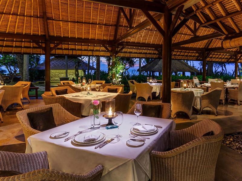 Restaurant Kura Kura de l'Oberoi Bali à Seminyak