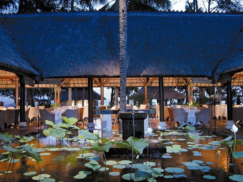 Autre vue du restaurant Kura Kura de l'Oberoi Bali
