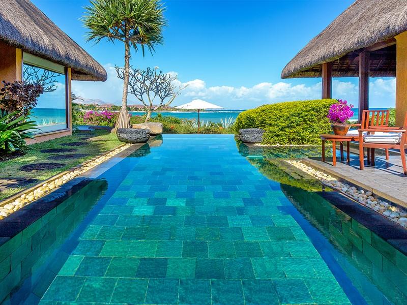 Villa Royale avec piscine privée de l'hôtel Oberoi