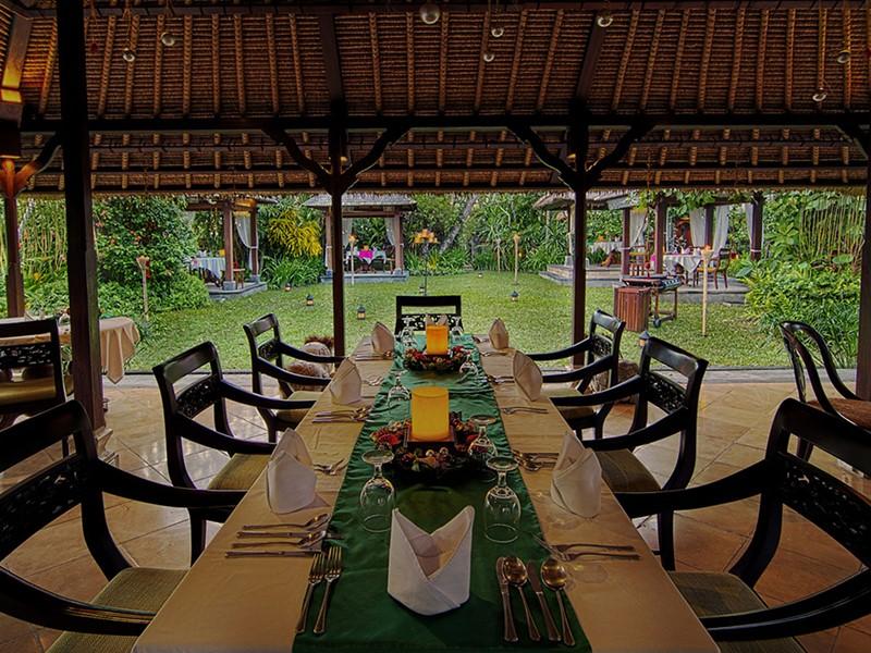 JAHE Restaurant de l'hôtel The Pavilions à Bali
