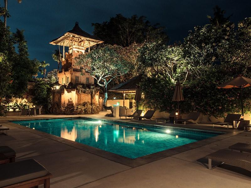 La piscine de l'hôtel The Pavilions à Sanur