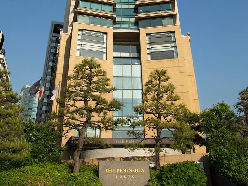 Le building du Peninsula à Chiyoda