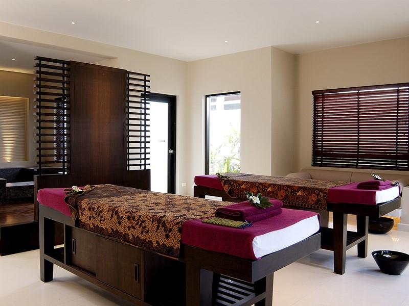 Le spa de l'hôtel 5 étoiles The Racha en Thailande