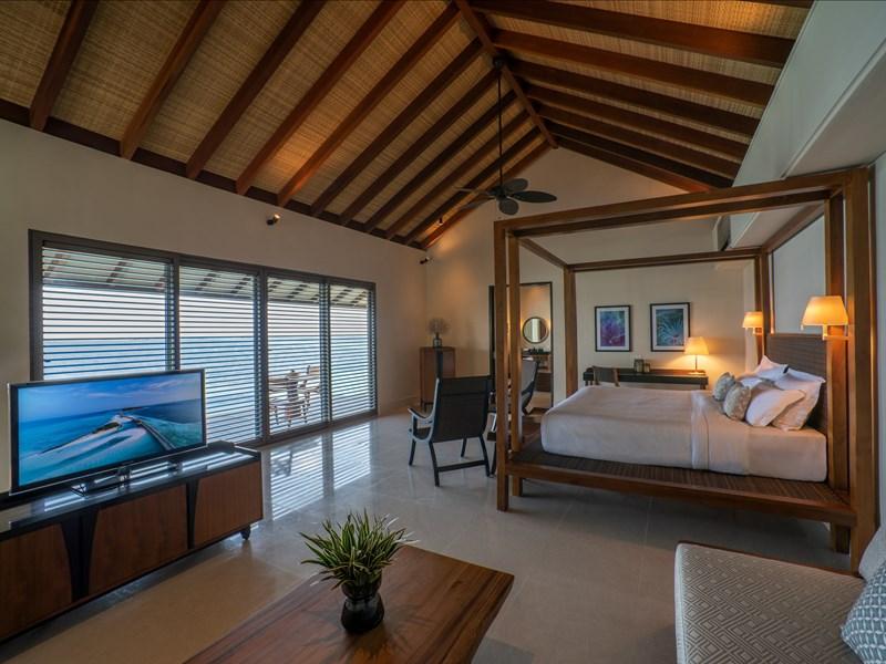 Intérieur de la Deluxe Lagoon Pool Villa