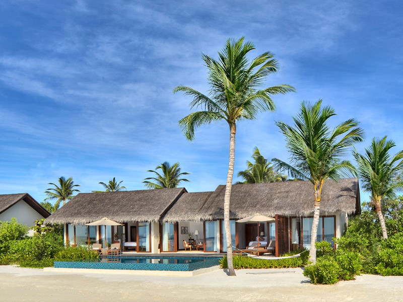 2 BR Beach Pool Villa