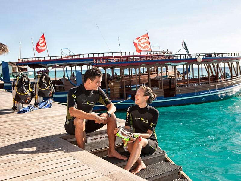 Explorez les fonds marins de l'atoll de Gaafu Alifu