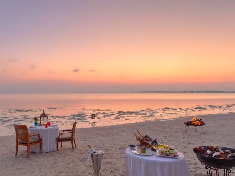 Offrez-vous une dîner romantique sur la plage