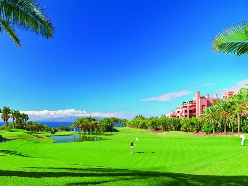 Terrain de golf du Ritz-Carlton Abama aux Canaries
