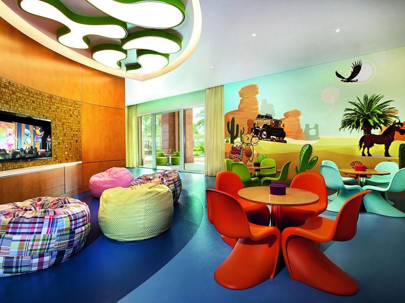 Coin enfants de l'hôtel Ritz Carlton à Dubai