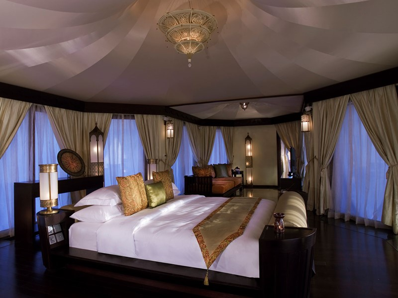 Al Khaimal Tented Pool Villa du Banyan Tree Al Wadi