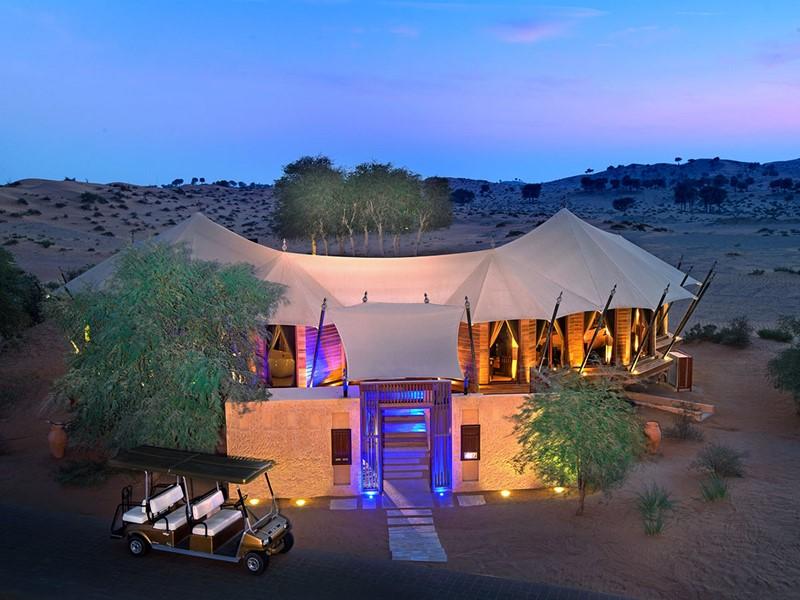 Al Sahari Tented Pool Villa du Banyan Tree Al Wadi