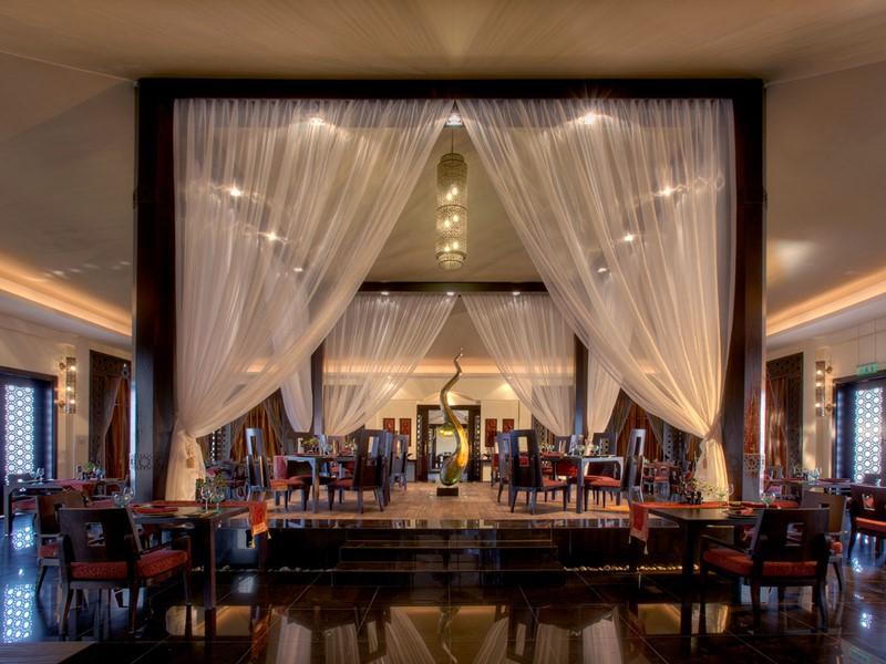 Restaurant Saffran de l'hôtel Banyan Tree Al Wadi