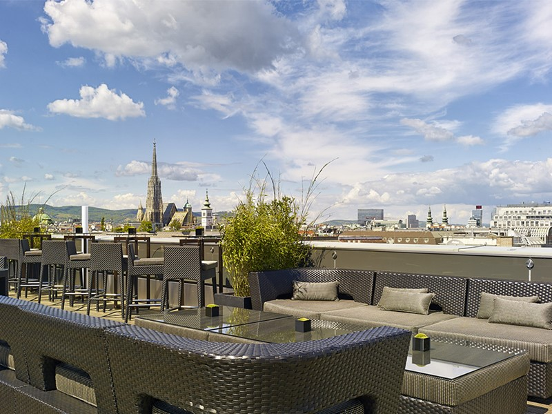 Le rooftop bar Atmosphere