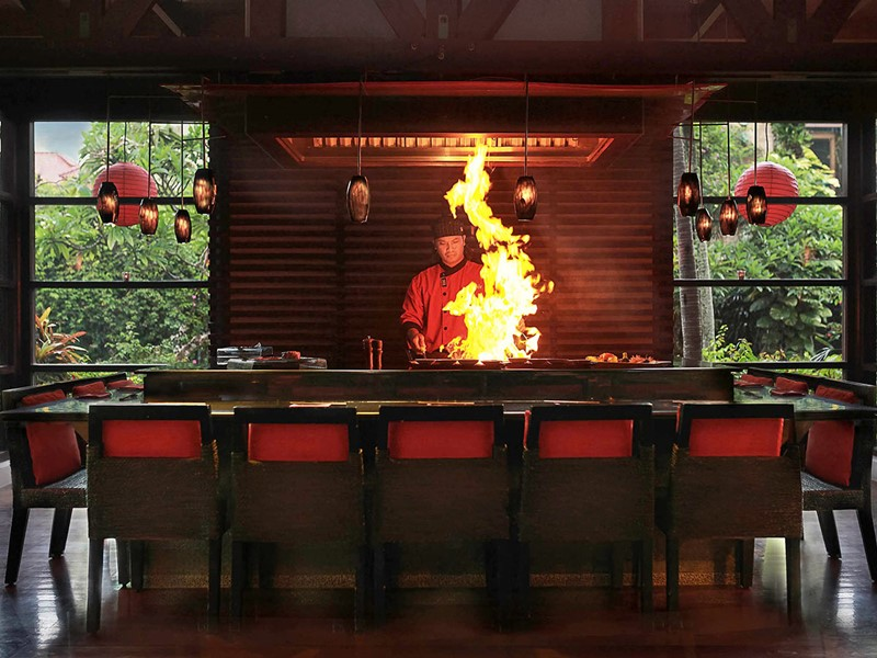 Restaurant Teppanyaki du Royal Beach Seminyak