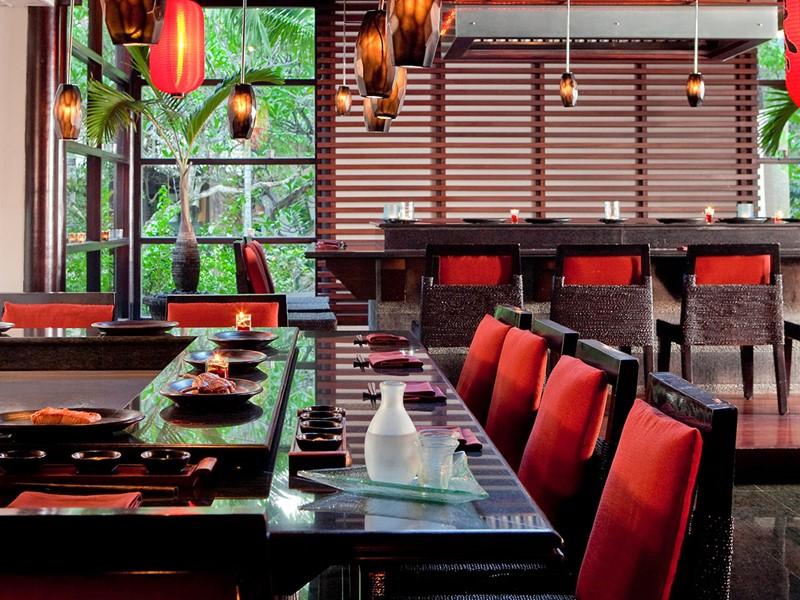 Autre vue du restaurant Teppanyaki du Royal Beach