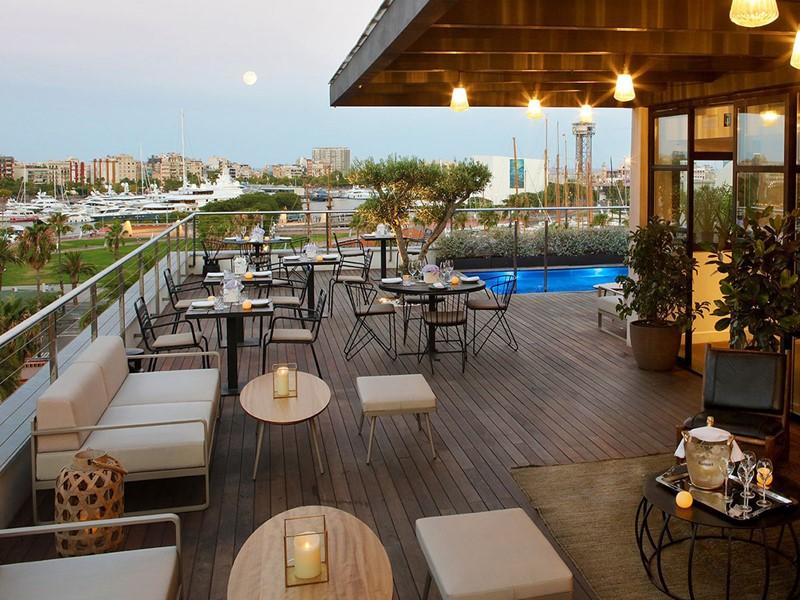 Le Rooftop El Sueno de l'hôtel The Serras en Espagne
