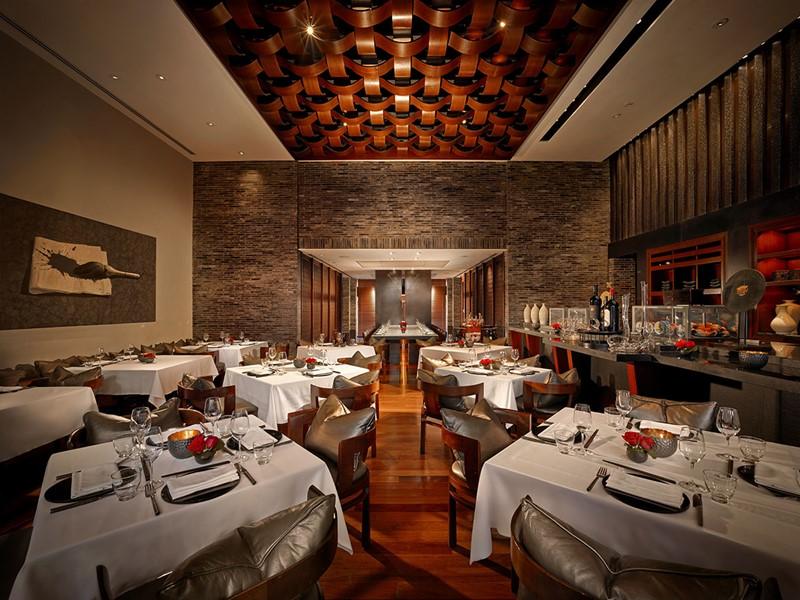 Le restaurant The Grill de l'hôtel Setai, à Miami