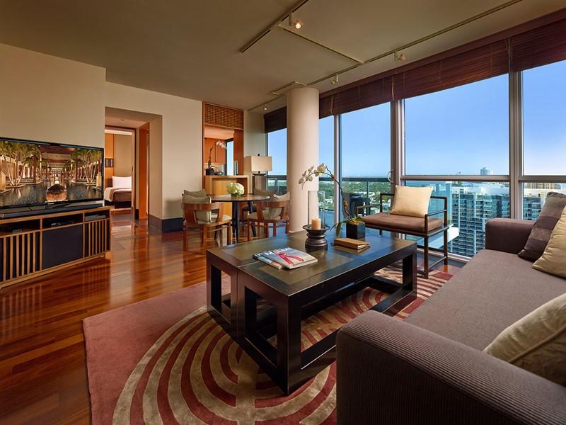 One Bedroom Ocean Suite de l'hôtel The Setai
