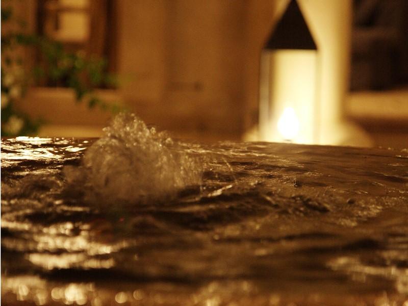 Détails d'une fontaine