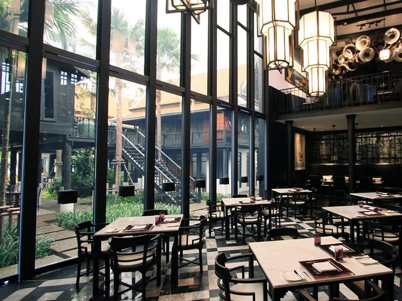 Le Deco Bar de l'hôtel The Siam en Thailande