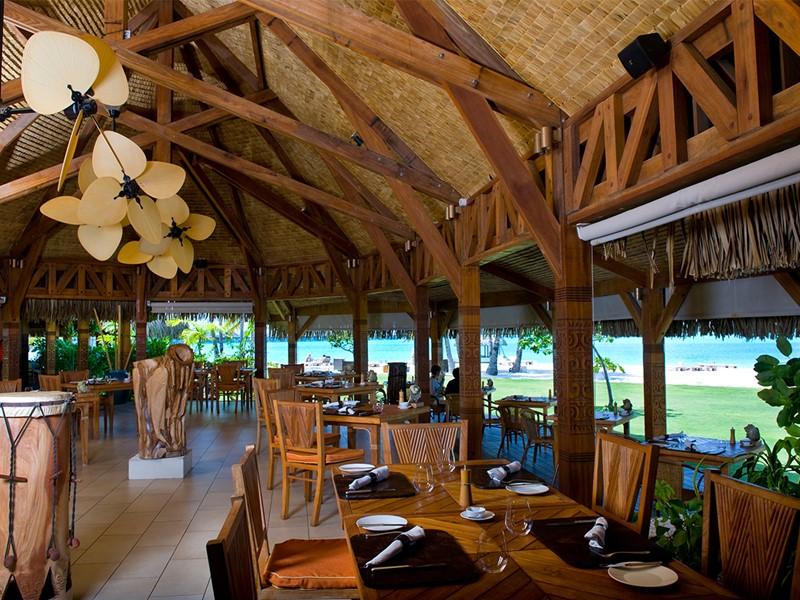 Le restaurant Te Pahu