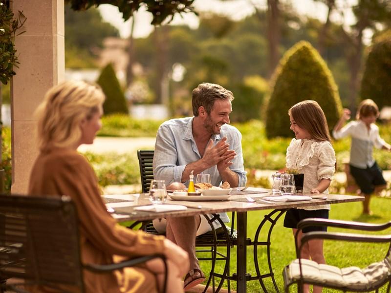 Profitez d'un repas en famille