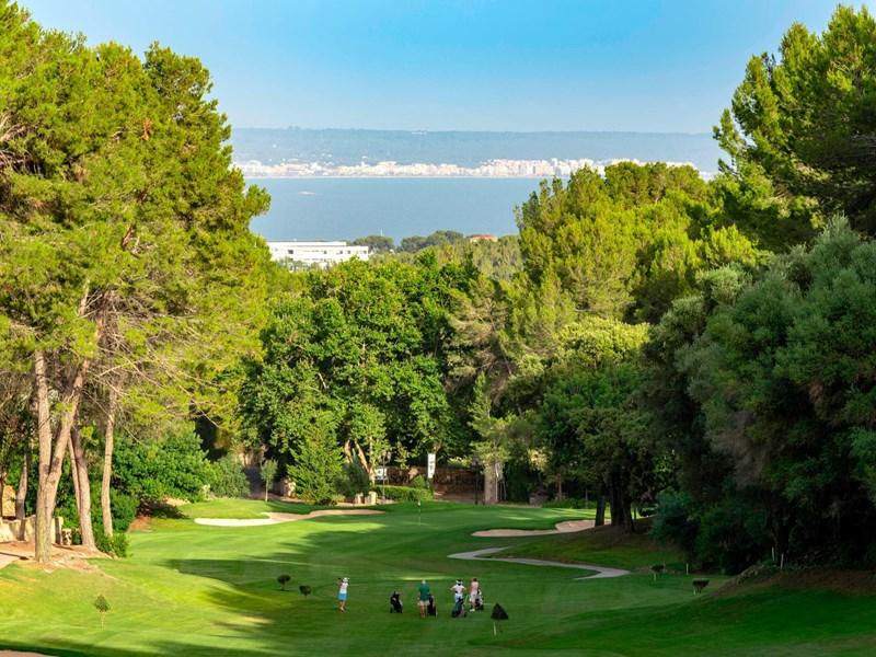 Golf Son Vida, et son cadre unique