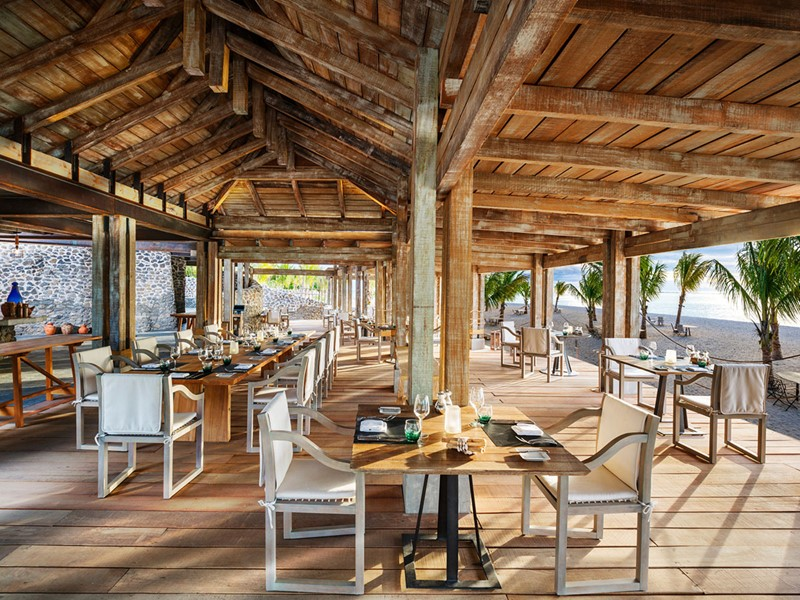 Le restaurant The Boathouse Grill du St Regis