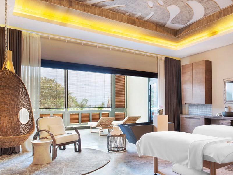 Le spa de l'hôtel 5 étoiles The St Regis Mauritius