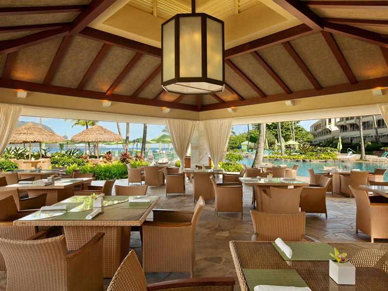 Le restaurant Nalu Kai Grill & Bar du Princeville Resort Kauai