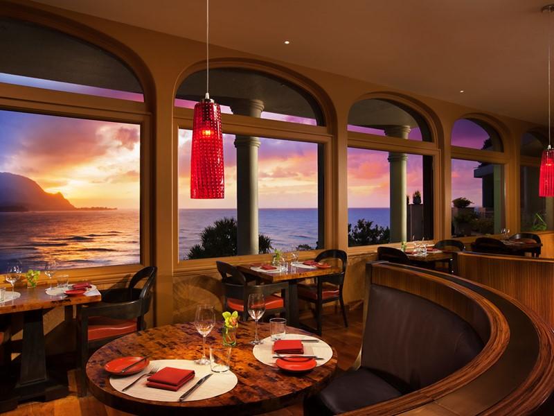 Le restaurant Kauai Grill du Princeville Resort Kauai